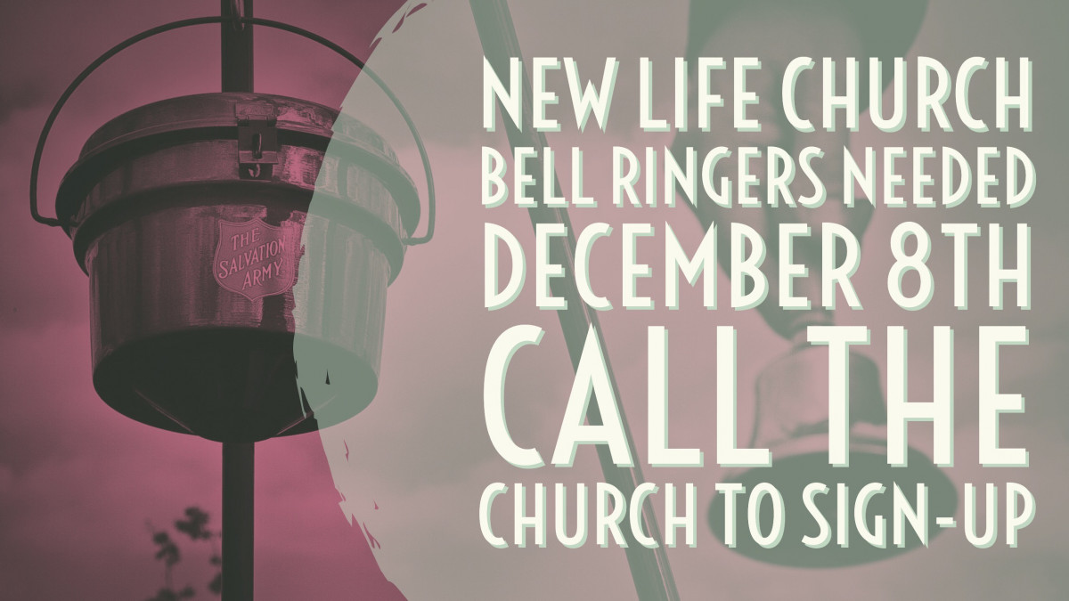 New Life Salvation Army Bell Ringers